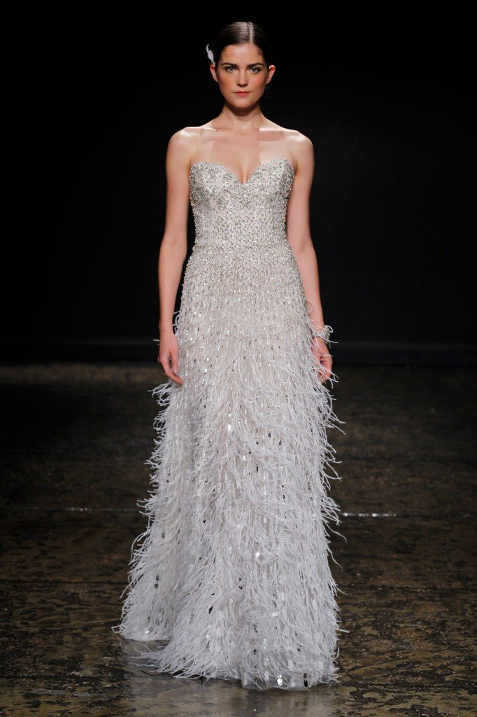 Spring 2014 runway is here jlm couture for How much is a lazaro wedding dress