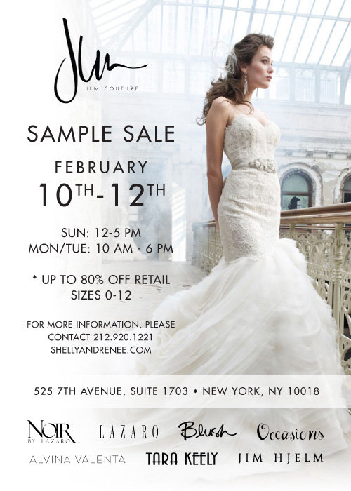 JLM Couture NYC Sample Sale! - JLM Couture