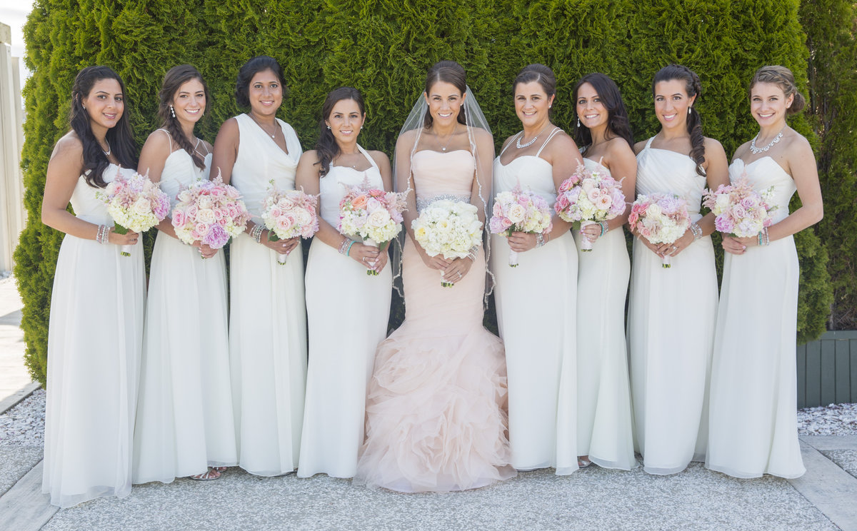 Stunning Wedding Dresses In Beige And Blush: JAY And VICTORIA