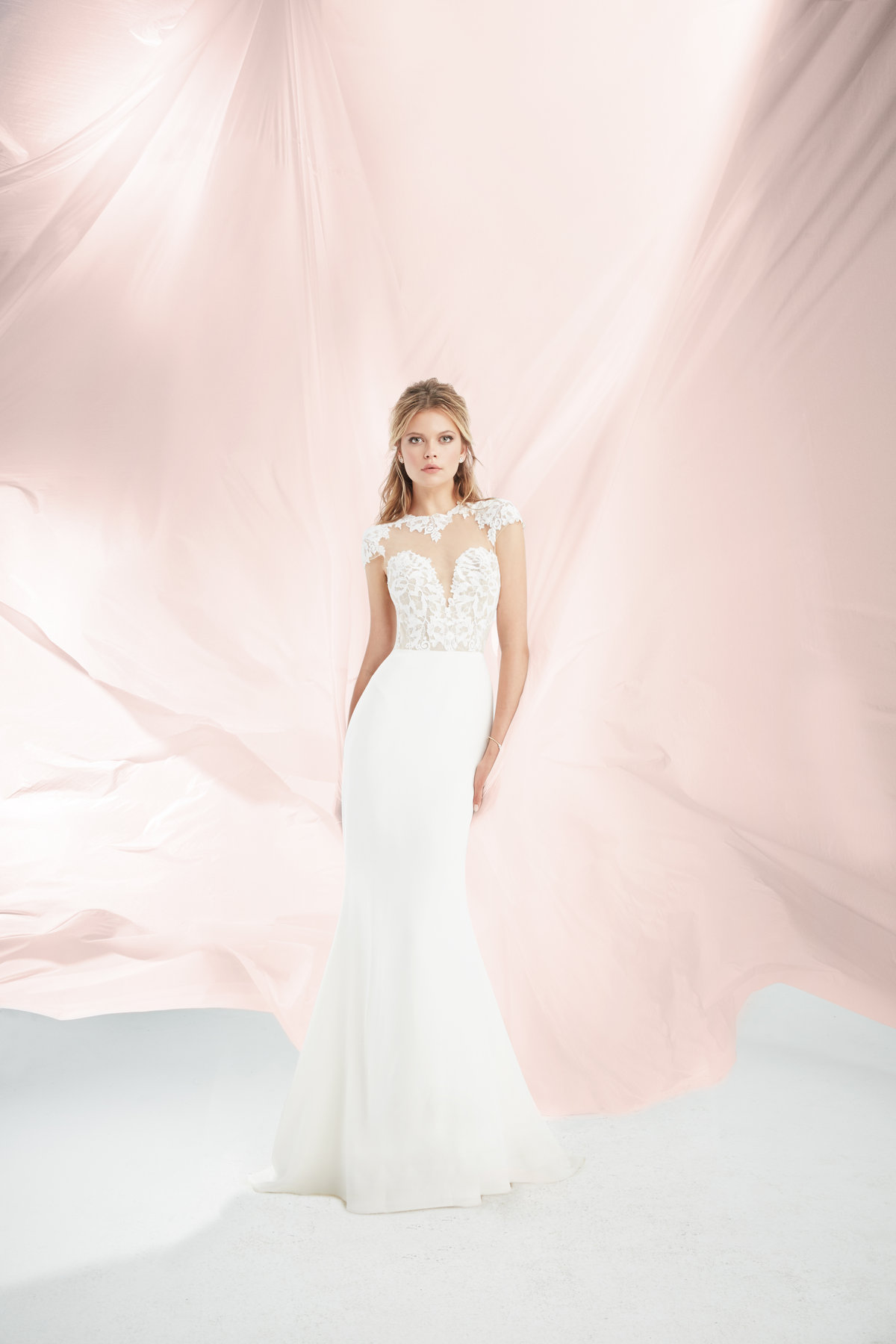 Bridal Gowns And Wedding Dresses By JLM Couture Style 1819 Daisy - Used Hayley Paige Wedding Dress