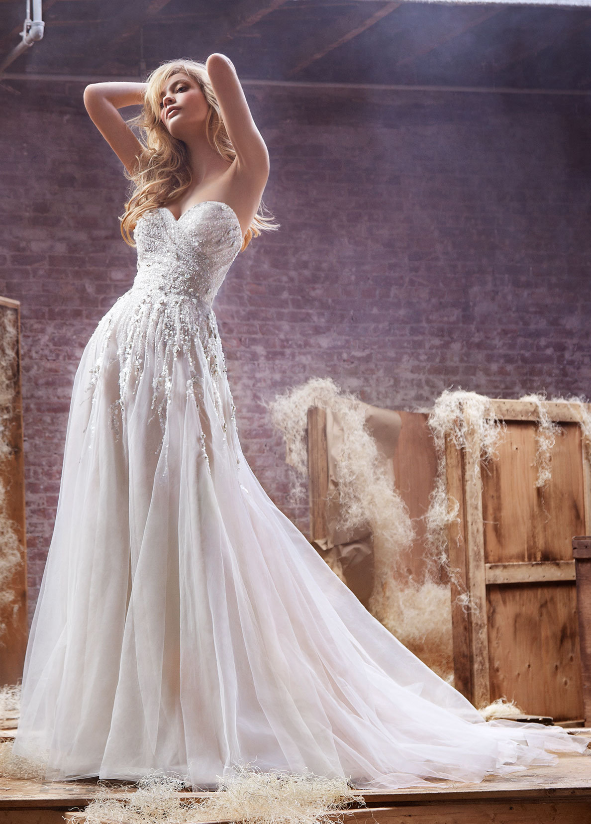 Bridal Gowns and Wedding Dresses by JLM Couture - Style 6412