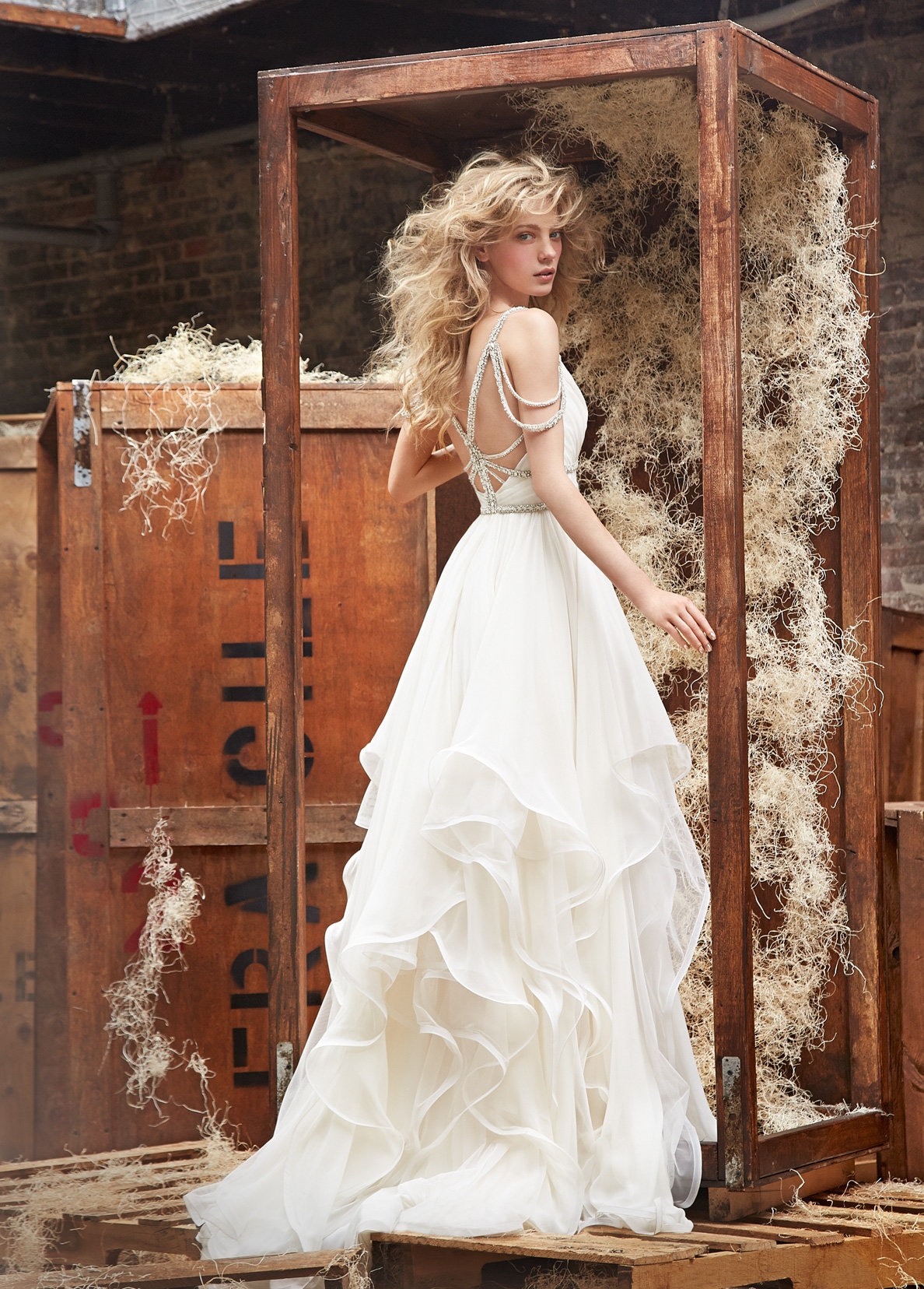Bridal Gowns and Wedding Dresses by JLM Couture - Style 6450