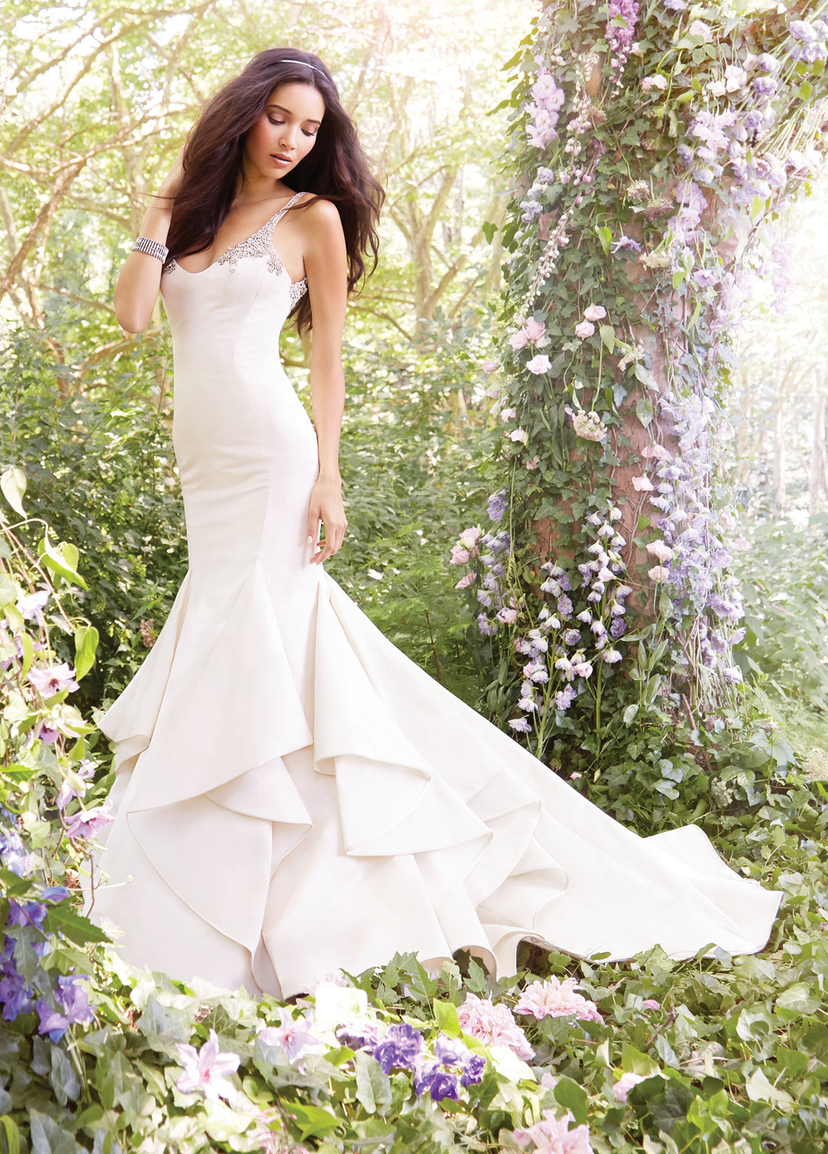 Bridal gowns and wedding dresses by jlm couture style 8558 for Jim hjelm wedding dresses