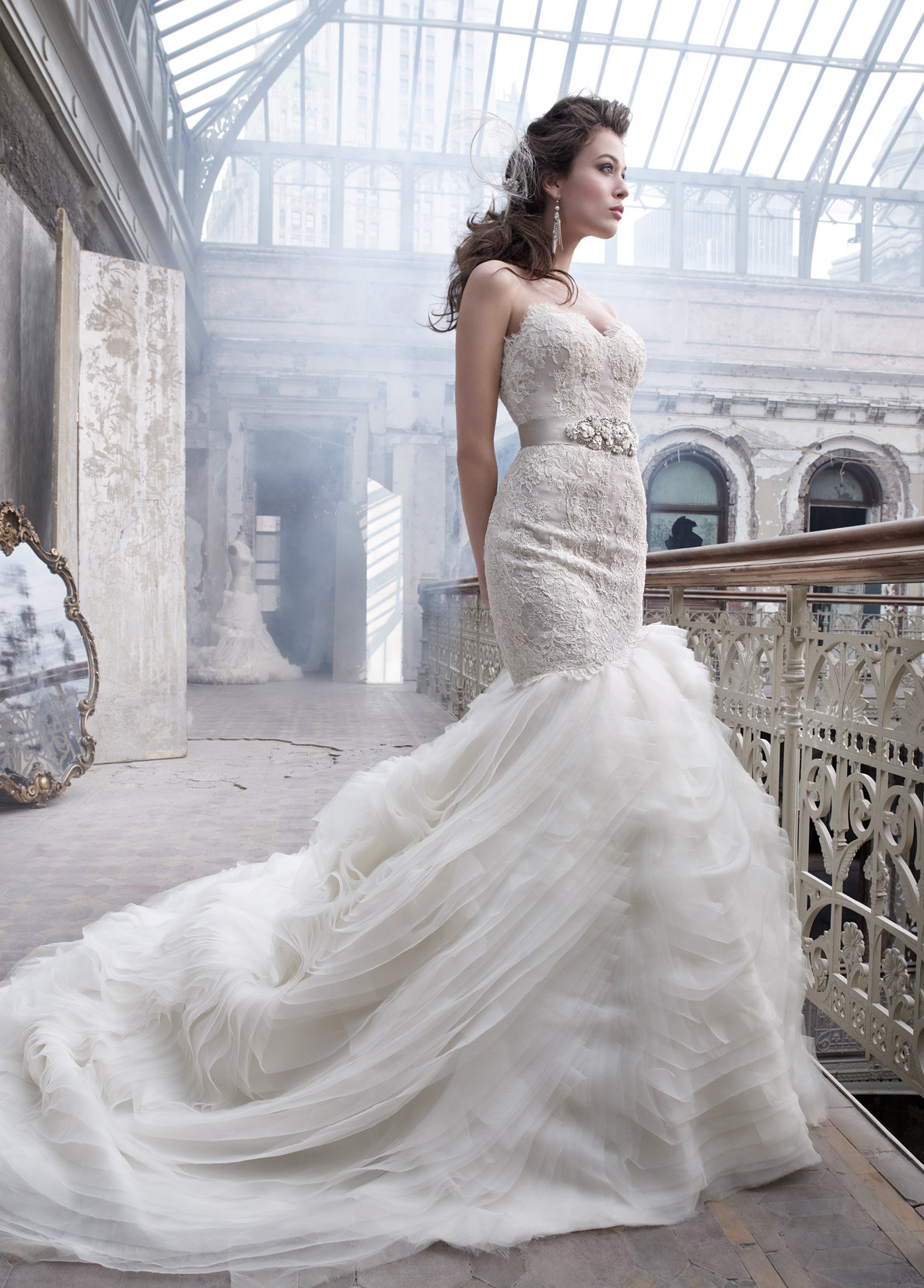 Lazaro wedding dresses for cheap