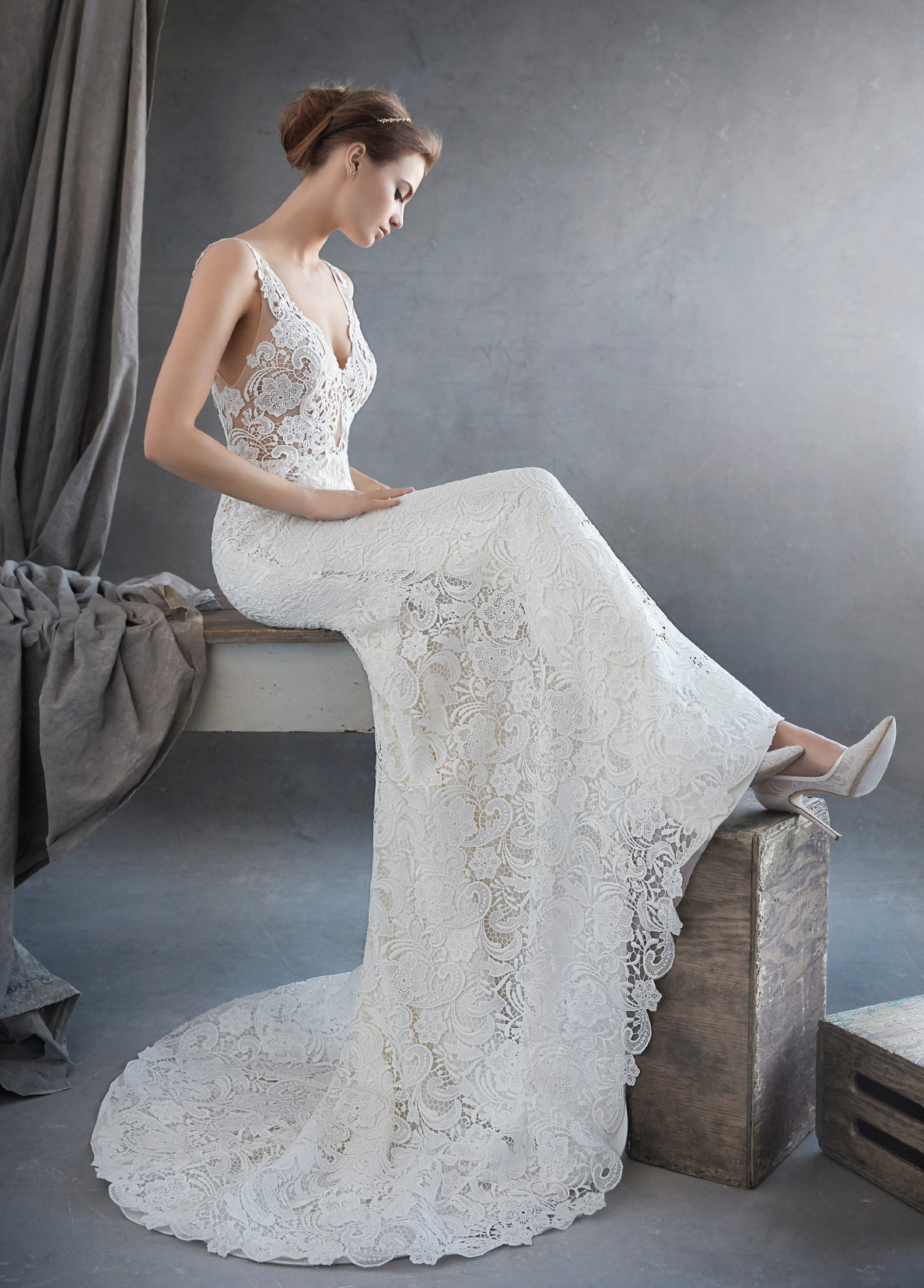 Bridal gowns and wedding dresses by jlm couture style 3609 for Wedding dresses for brides