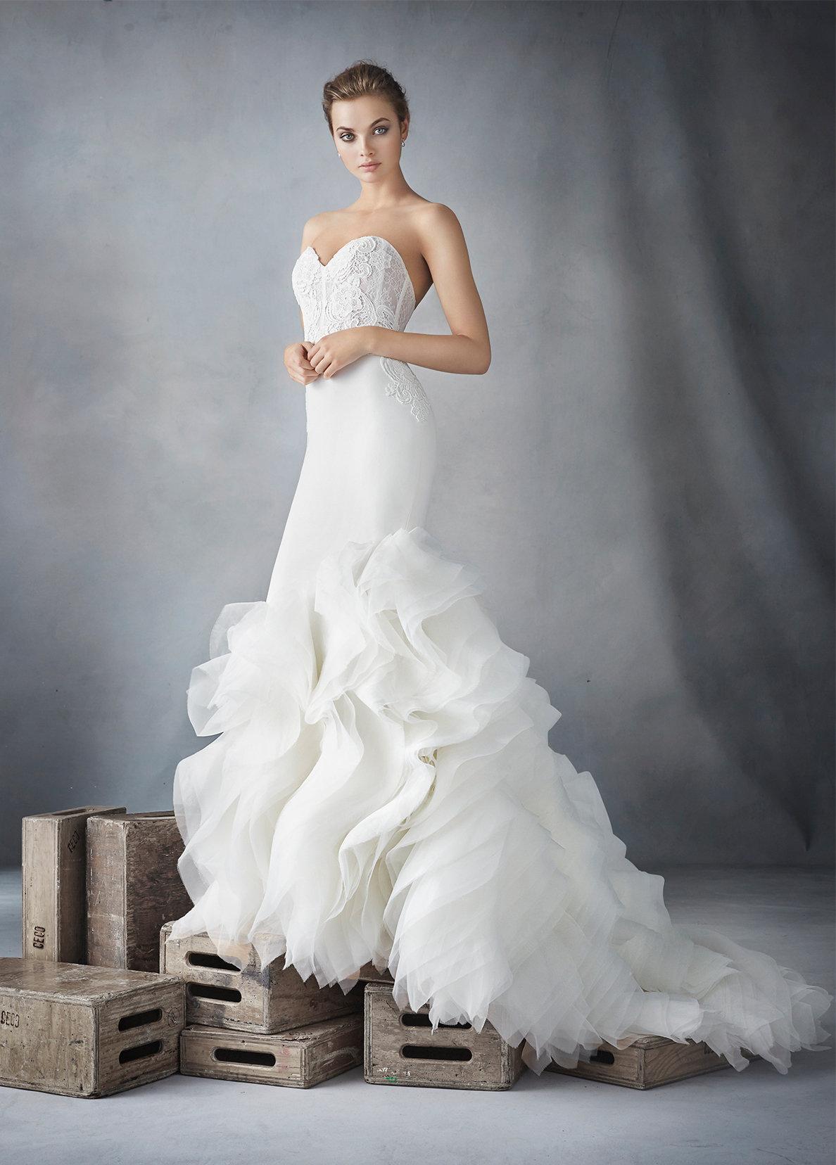 Organza Lazaro Wedding Collection Fashion Dresses