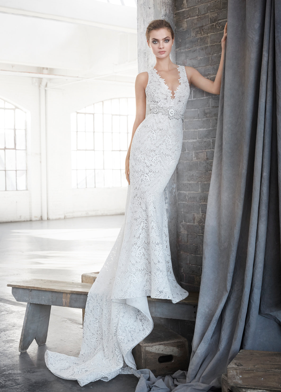Bridal Gowns and Wedding Dresses by JLM Couture - Style 3611