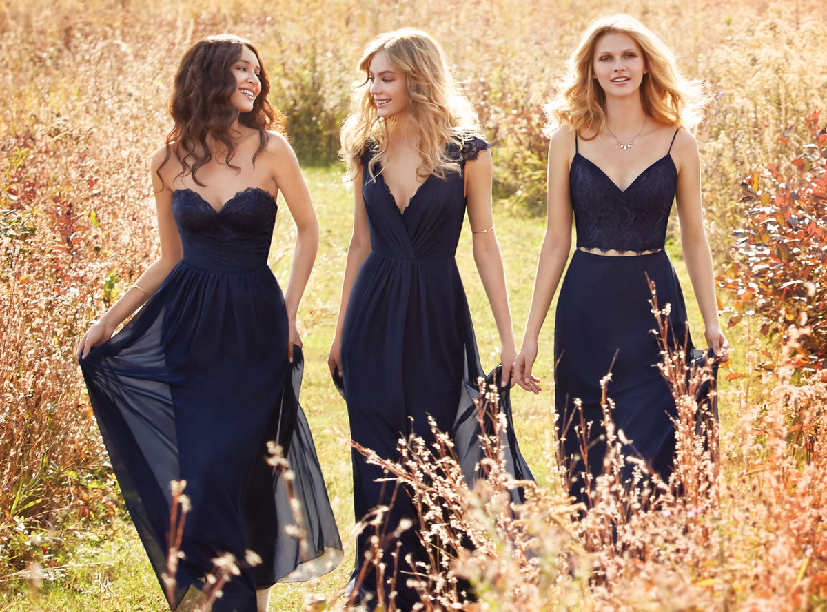 822f5751e3 Navy And Lace Bridesmaid Dresses - Data Dynamic AG