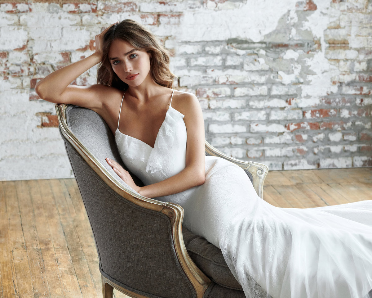 Real Weddings Zola: Bridal Gowns And Wedding Dresses By JLM Couture