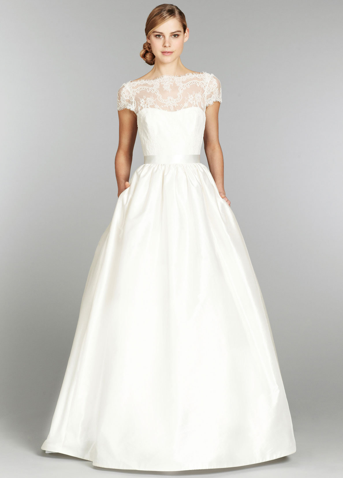 full wedding dresses. download to save. ivory shantung bridal ball gown full wedding dresses r