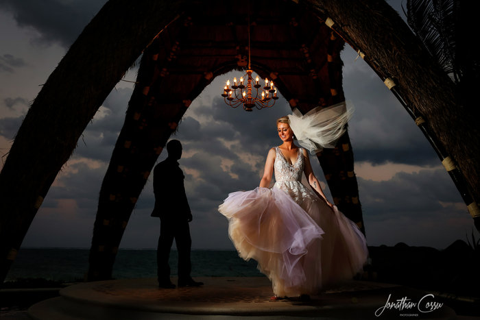 Dreams Riviera Cancun Wedding, Mexico. Jonathan Cossu Photographer