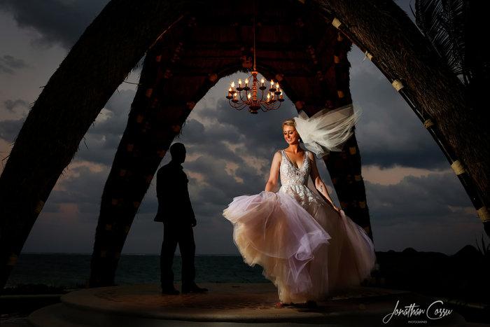 Dreams Riviera Cancun Wedding, Mexico. Jonathan Cossu Photographer