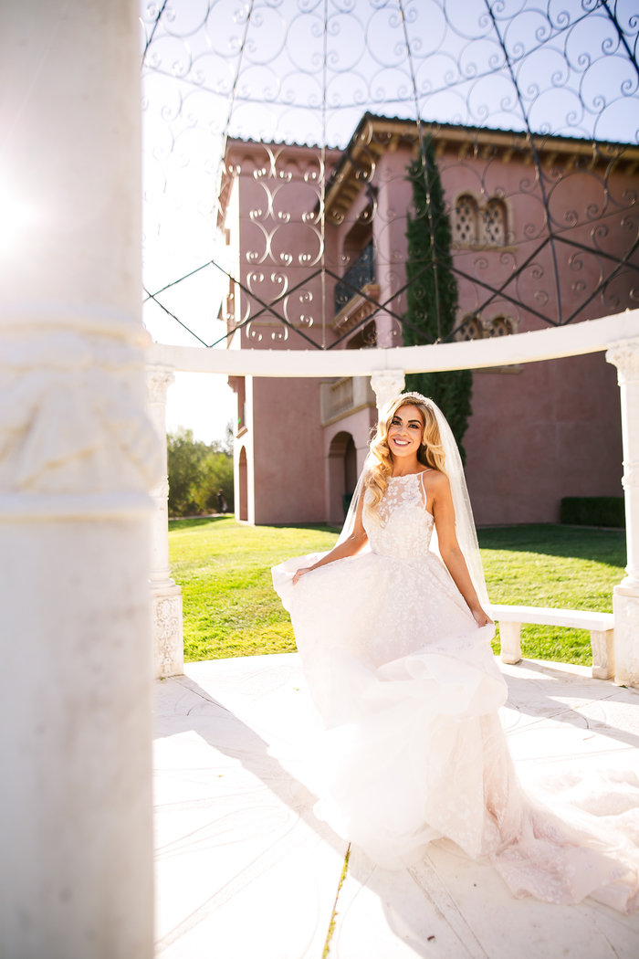 Persian Wedding, Persian Bride, Ballgown, Hayley Paige Designer