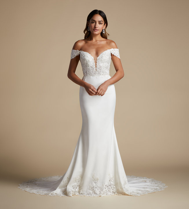 Lucia by Allison Webb Style 92105 Cara Bridal Gown
