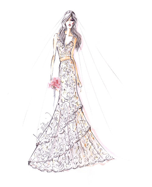 Style 9161  Sketch