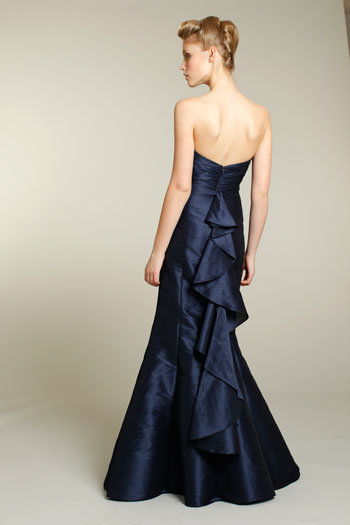 Style 9174  Back View w/ cascade