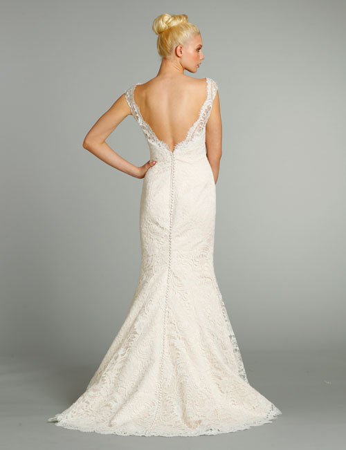 Style 9258  Back View
