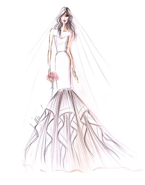 Style 9307  Sketch
