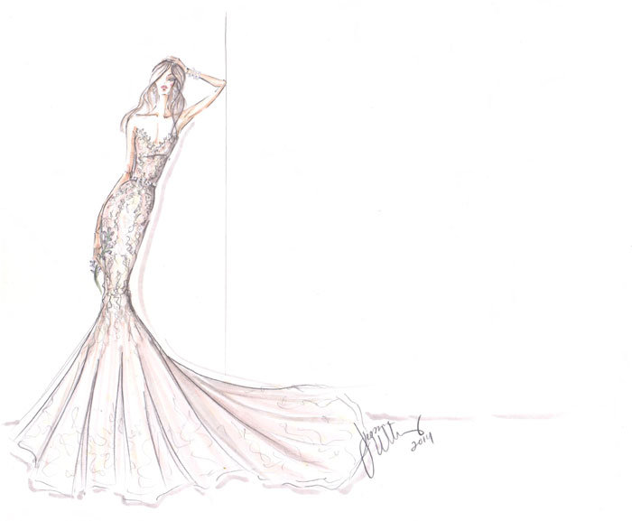Style 9451  Sketch