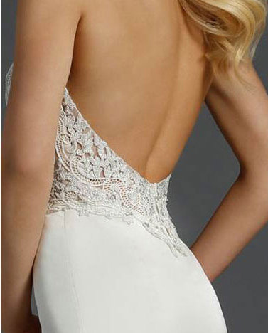 Style 9457  Detail Back View