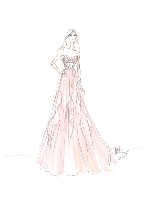 Style 9459  Sketch