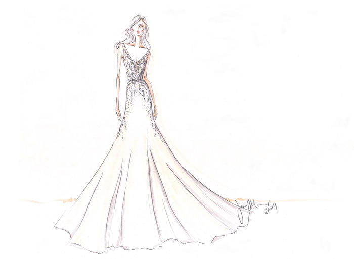 Style 9461  Sketch