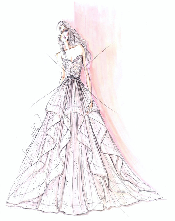 Style 9551  Sketch