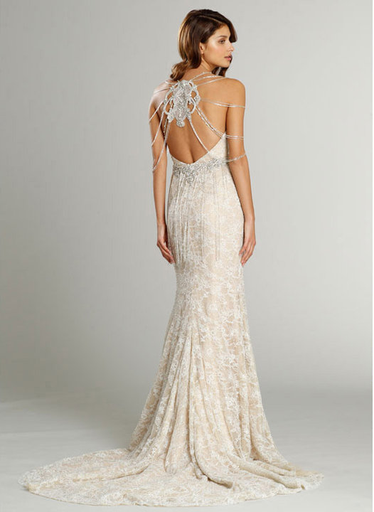 Style 9557  Back View