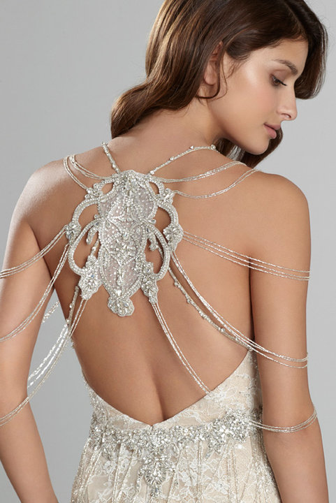 Style 9557  Detail Back View