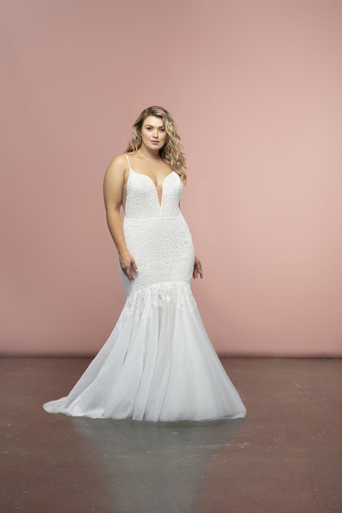 Blush by Hayley Paige Style 12009S Honey Bridal Gown
