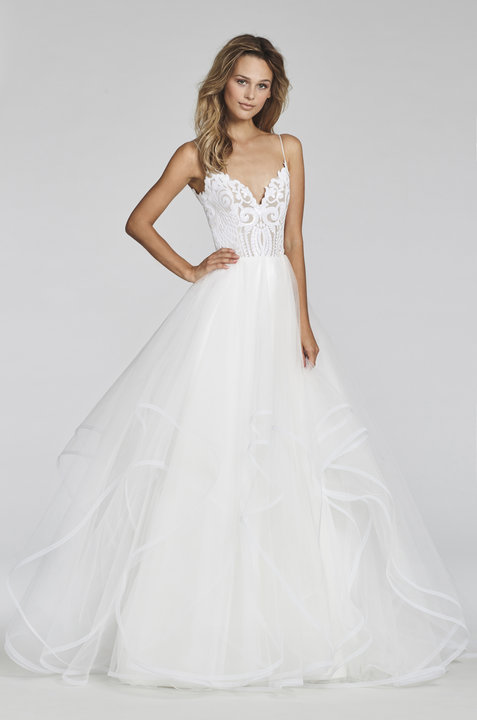 Blush by Hayley Paige Style 1700 Pepper Bridal Gown
