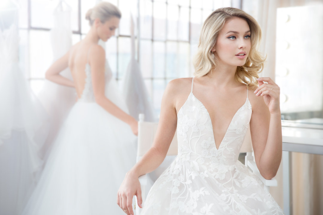Blush by Hayley Paige Style 1817 Fleur De Lis Bridal Gown