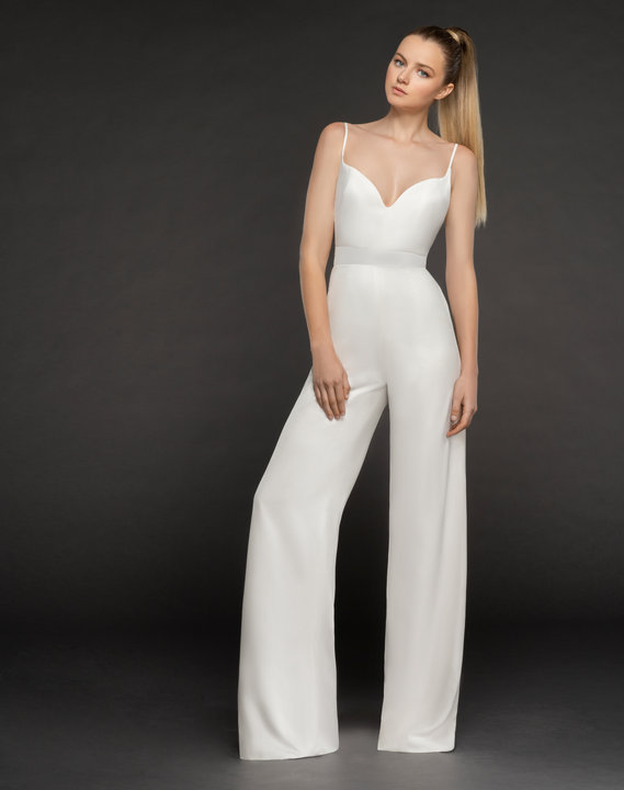 Blush by Hayley Paige Style 1863 Kim Bridal Jumpsuit