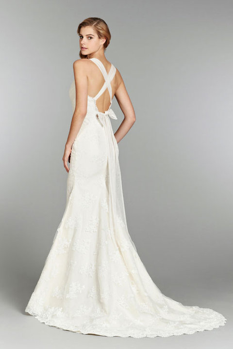 Style 1351 Clementine Back View