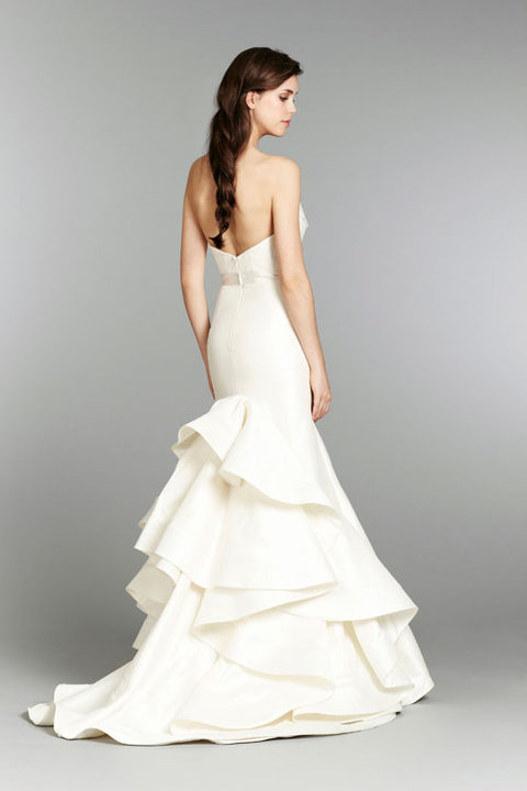 Style 1353 Daffodil Back View