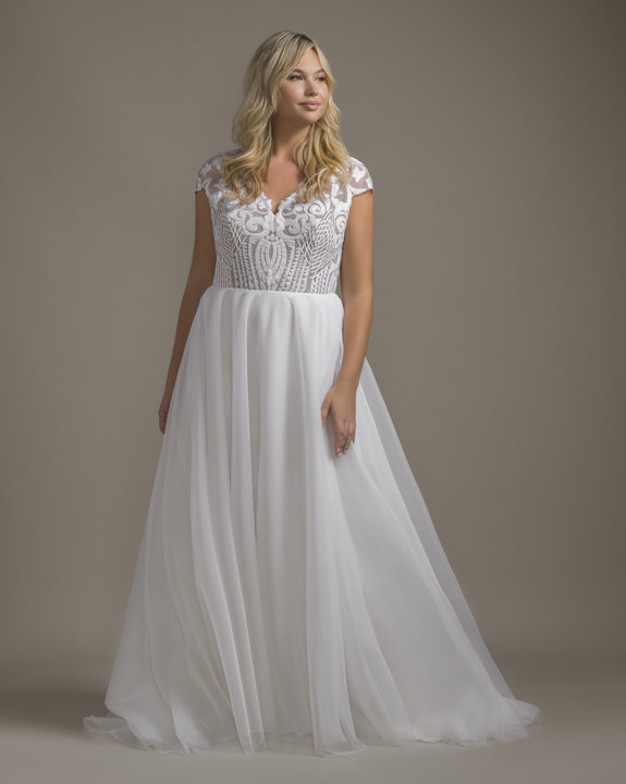 Hayley Paige Style 1920 Dakota Gown