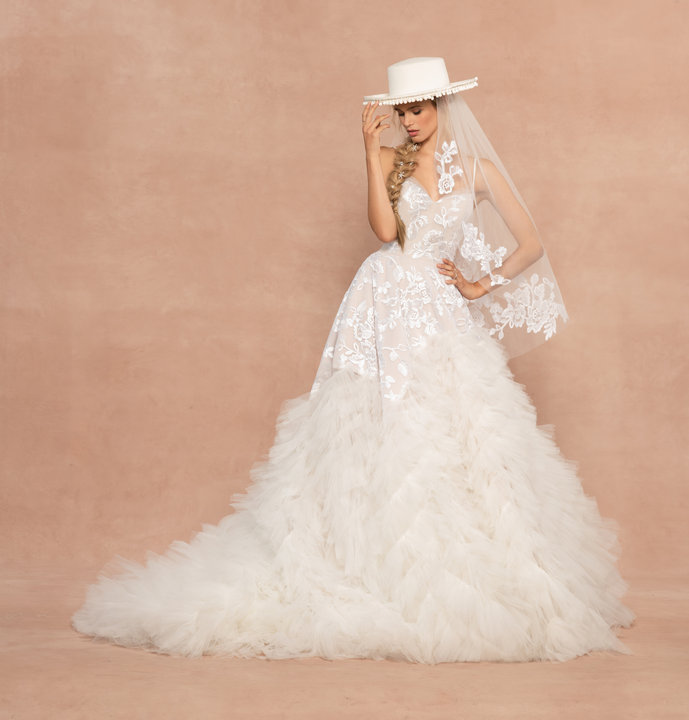 Hayley Paige Style 62002 Gigi Bridal Gown