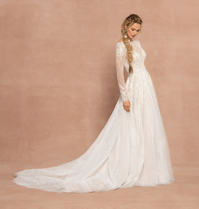 Hayley Paige Style 62006 Fleetwood Bridal Gown