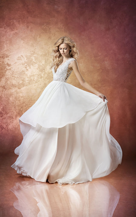 Hayley Paige Style 6658 Leigh Bridal Gown