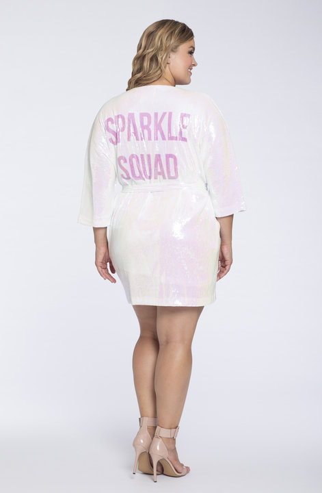 Athleisure Robe Sparkle Squad