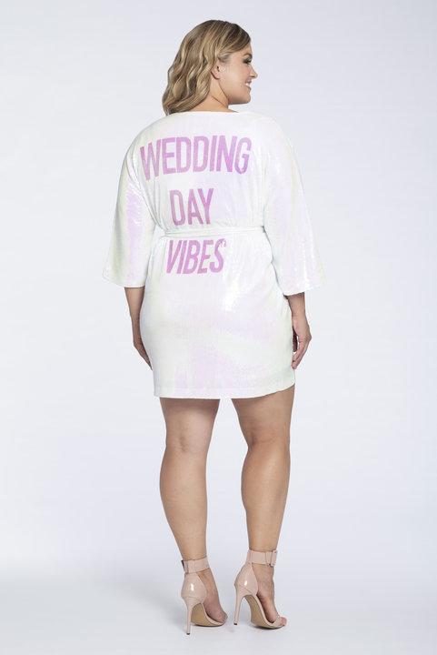 Robe Wedding Day vibes