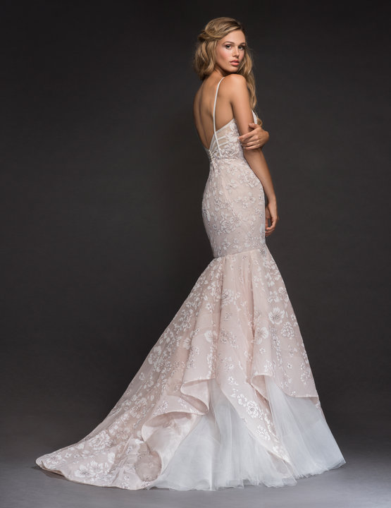 Hayley Paige Style 6801 Ronnie Bridal Gown