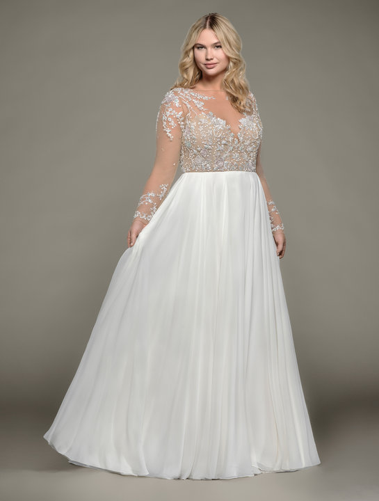 Hayley Paige Style 6807 Pascal Bridal Gown Back