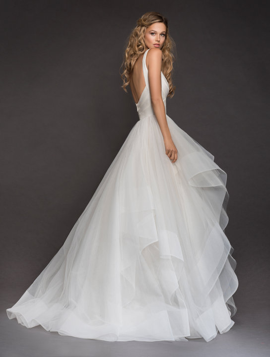 Hayley Paige Style 6816 McCartney Bridal Gown