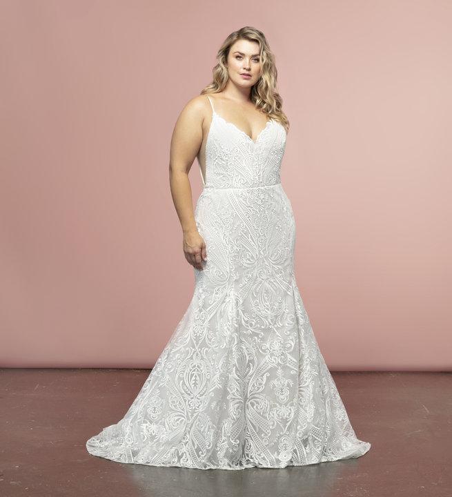 Hayley Paige Style 6954S Zazu Bridal Gown