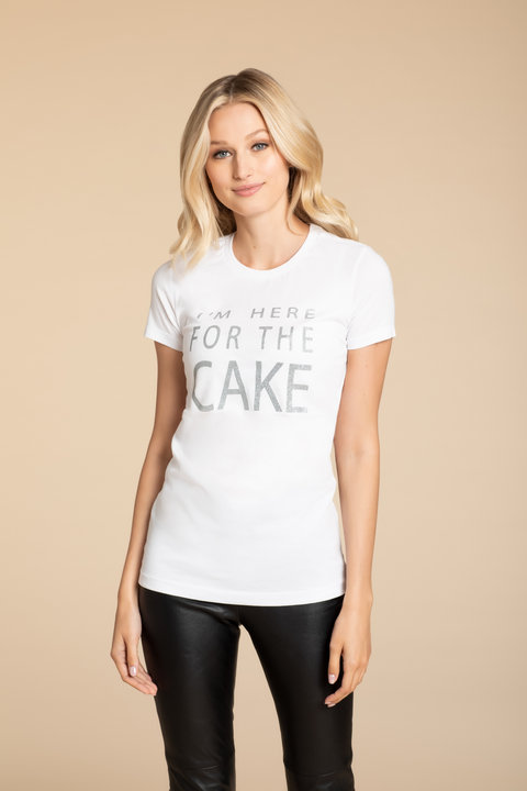 Hayley Paige Athleisure I Want Cake Shirt