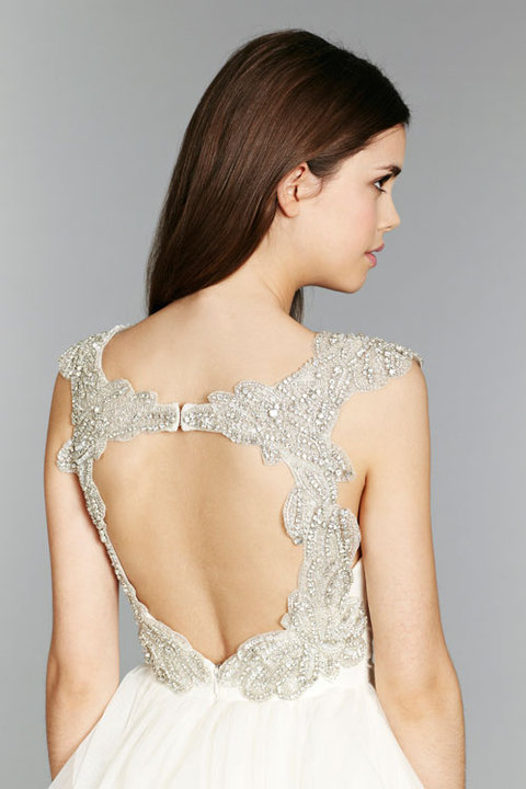 Style 6350 Carrie Close Up Back View