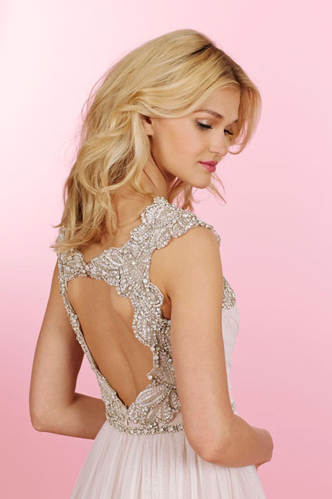 Style 6456 Houston Close Up Back View