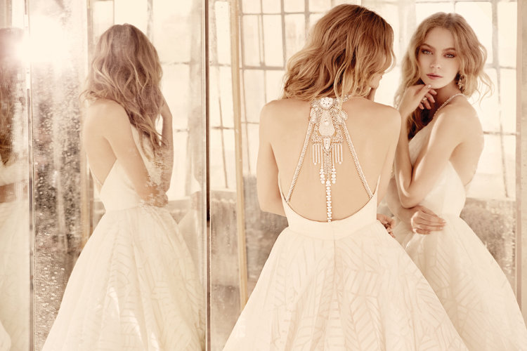 Hayley Paige Style 6550 Behati Bridal Gown