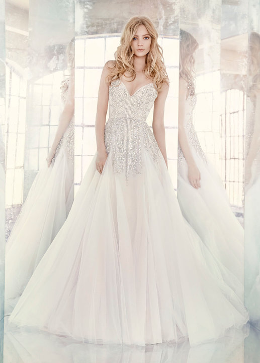 Hayley Paige Style 6608 Comet Bridal Gown